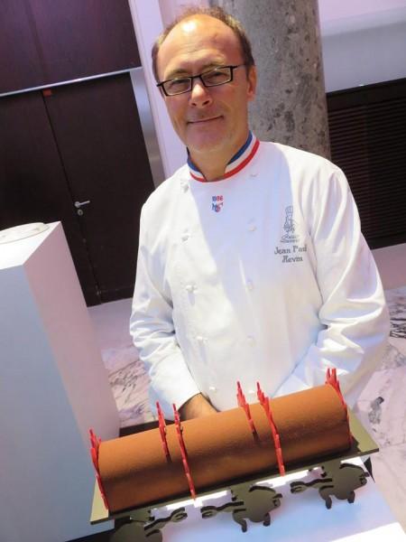 Bûche d'Enfer du chocolatier Jean-Paul Hévin