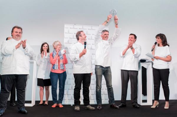 Christophe Adam élu meilleur pâtissier 2015