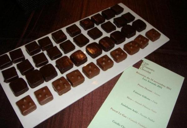 Dégustations de chocolat au Club des Croqueurs de chocolat