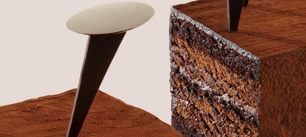 Nouvelle création du pâtissier chocolatier Jean-Paul Hévin : le gâteau Saint-Cloud