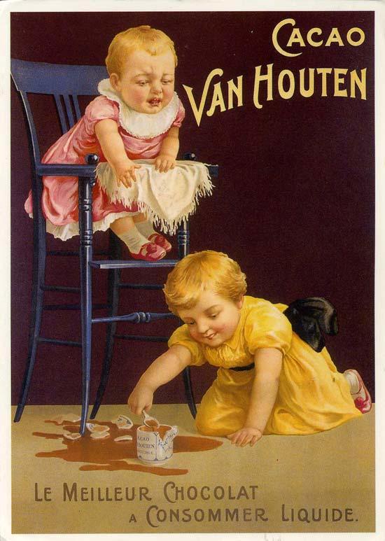 Publicité Cacao Van Houten