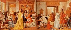 1657 ouverture des premières chocolate house à Londres