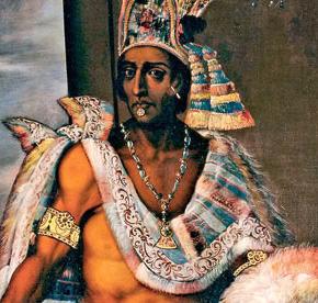 Moctezuma empereur Aztèque