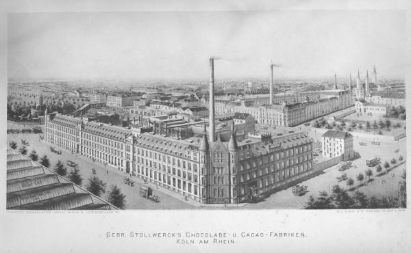 Fabrique de chocolat Stollwerck