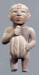 Statue Aztèque