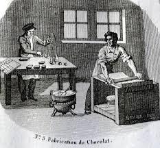 Chocolatier au XVIIe siècle
